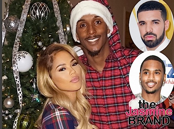 Lou Williams & Longtime Girlfriend Rece Mitchell Split, Newly Single Rece Spotted Vacationing w/ Trey Songz & Drake
