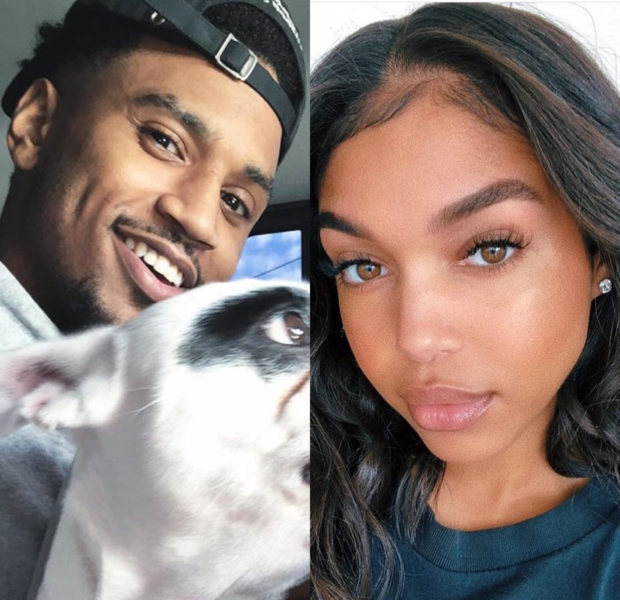 Trey Songz & Lori Harvey Kissing In Public! [VIDEO]