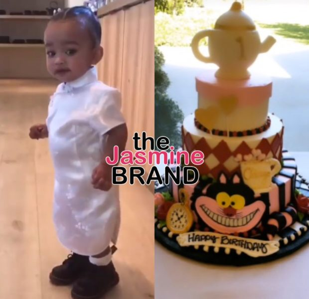 Chicago West Turns 1 W/ 'Alice in Wonderland' Birthday, Chrissy Teigen & John Legend Attend