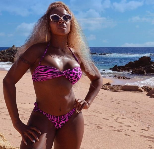 Mary J. Blige Rings In 48th Birthday Showing Off Banging Bikini Body