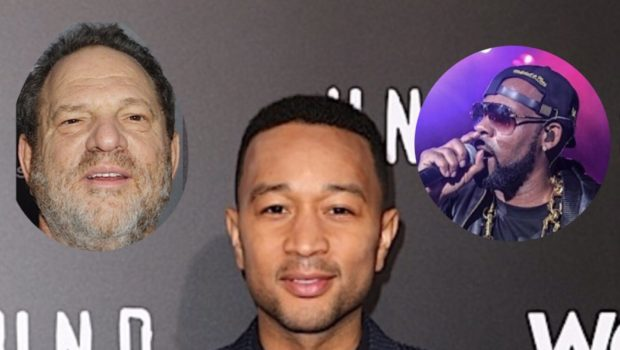John Legend Denies Being A Hypocrite After Photo Of Him W/ Harvey Weinstein Resurfaces