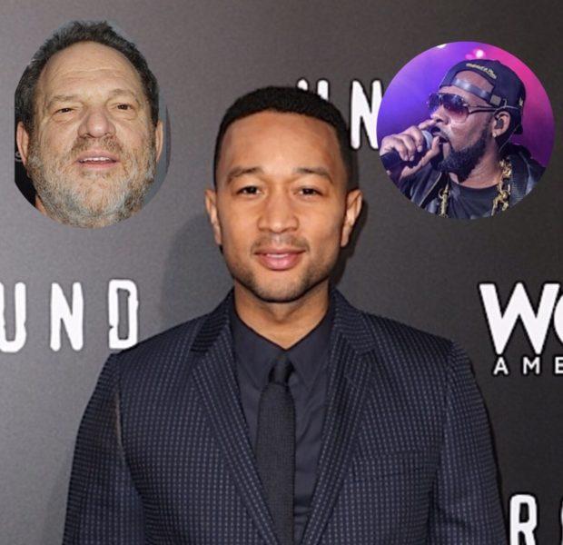 John Legend Denies Being A Hypocrite After Photo Of Him W/ Harvey Weinstein Resurfaces