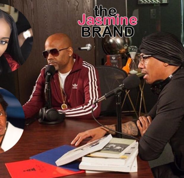 Nick Cannon Seemingly Questions Dame Dash About Rumors Jay Z Had Relationship w/ Foxy Brown When She Was Underage