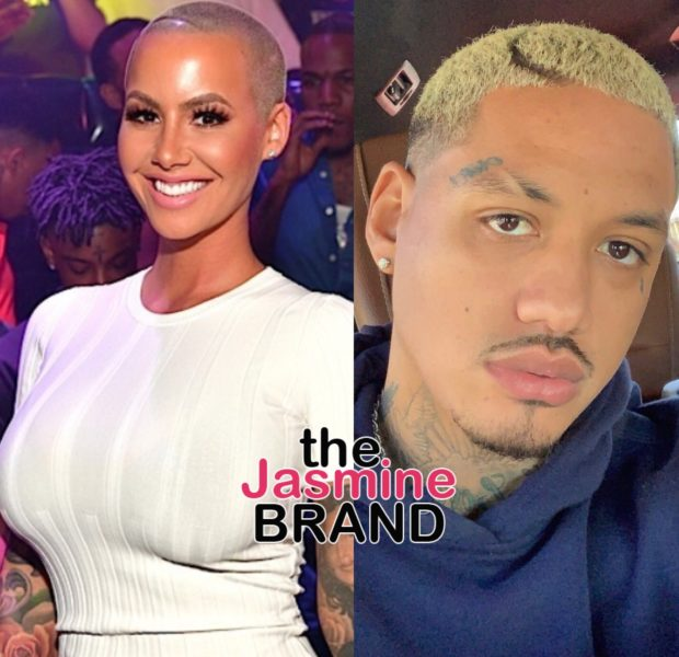 Amber Rose Reflects On Being Mentally Abused & Manipulated In Past Relationships, Gushes Over New Boyfriend A.E.