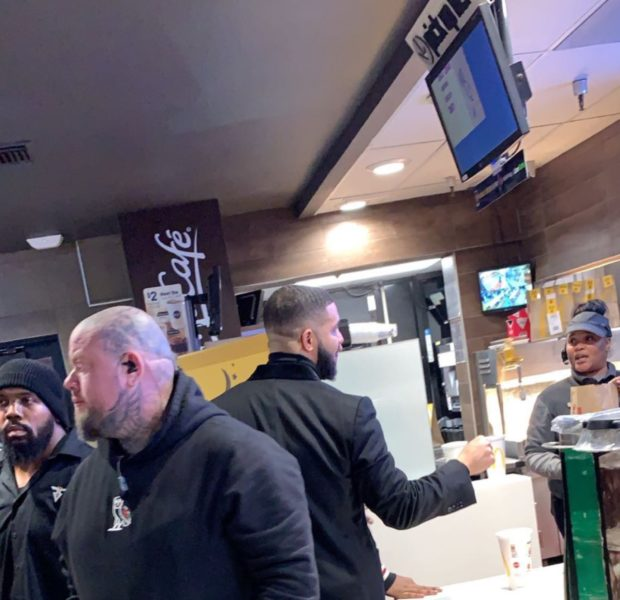 Drake Gives $20,000 To 2 McDonald Employees! [Photo]