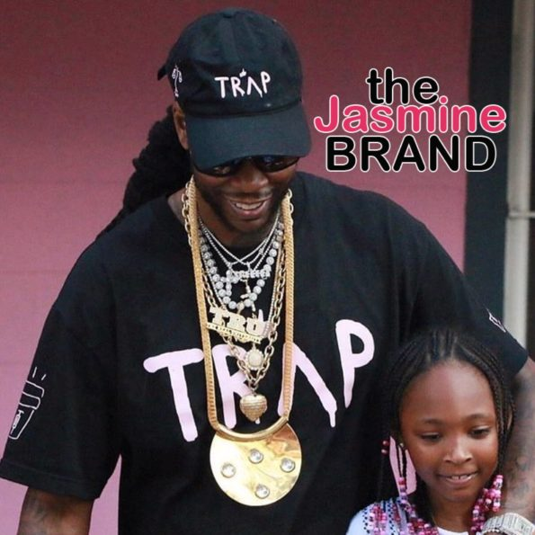 2 Chainz's 10-Year-Old Daughter Wants To Dye Her Hair Blue