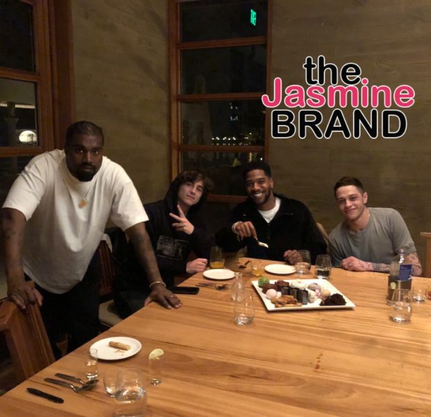Kid Cudi Celebrates 35th Birthday W/ Kanye, Kim Kardashian West, Pete Davidson & Timothée Chalamet