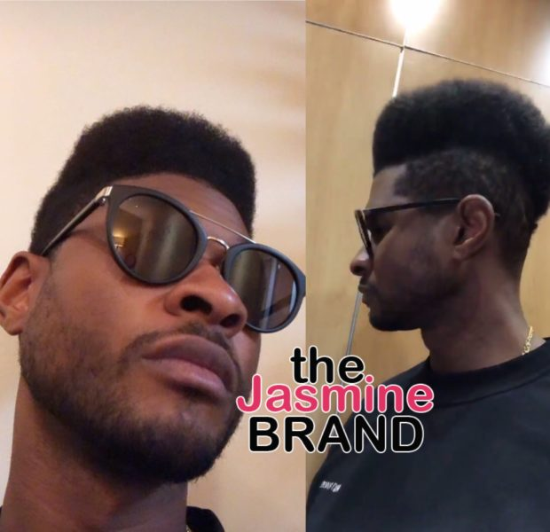 Usher Switches Hairstyle Again, Debuts High Top Fade [VIDEO]