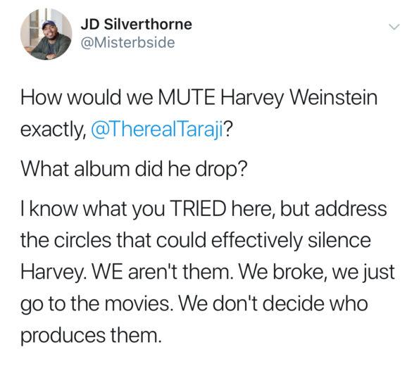 Taraji P. Henson Compares R. Kelly To Harvey Weinstein