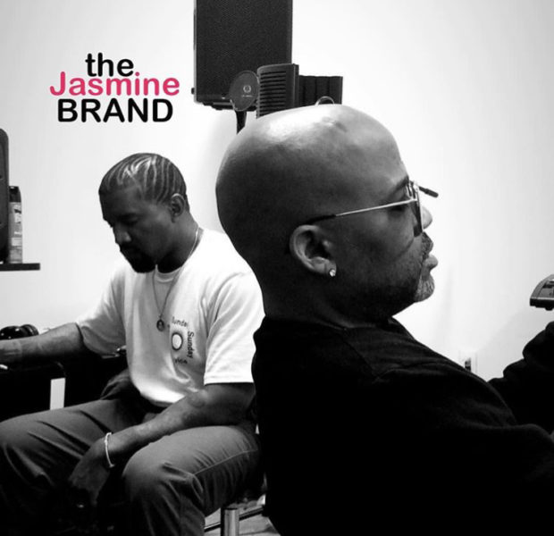 Kanye West & Dame Dash Could Be Cooking Up Something New [PHOTOS]