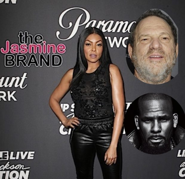 Taraji P. Henson Compares R. Kelly To Harvey Weinstein, Later Clarifies Her Opinion