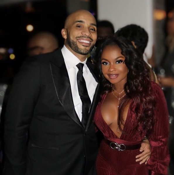 Phaedra Parks Debuts New Man, Radio Personality Tone Kapone