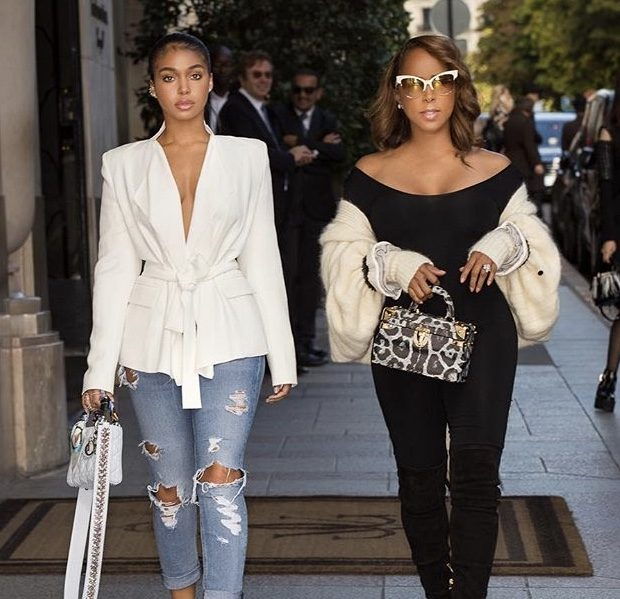 Marjorie Harvey Responds To Troll Calling Daughter Lori Harvey A Hoe