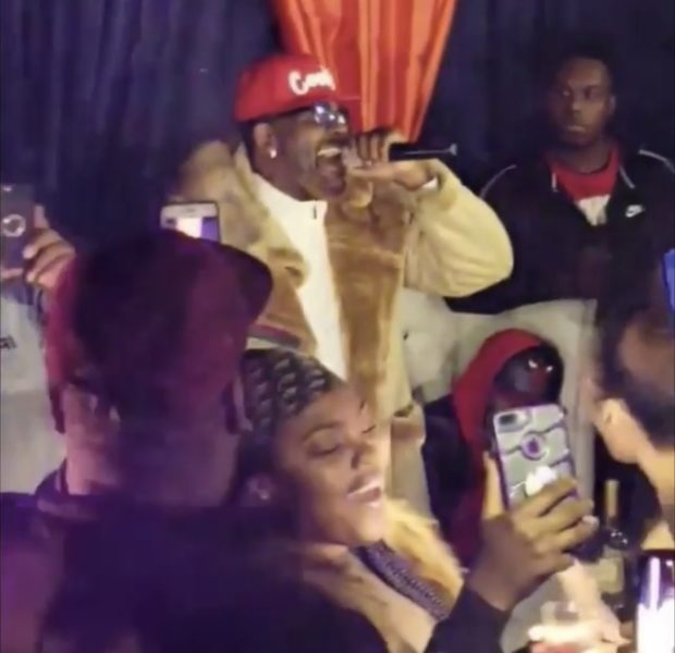 "R.Kelly Celebrates Birthday At Nightclub, Tells Clubgoers: ""I don't give a f*ck what's going on!"""