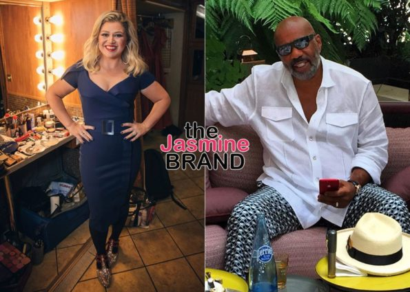 Steve Harvey Says He's 'Happy For' Kelly Clarkson After She Replaced Him,  Jokes That He Doesn't Watch Her Show: I Ain't That Happy
