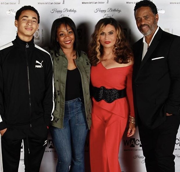 "Tina Knowles Lawson Wards Off Cougars With Picture of Teenage Grandson: ""He's only 14!"""
