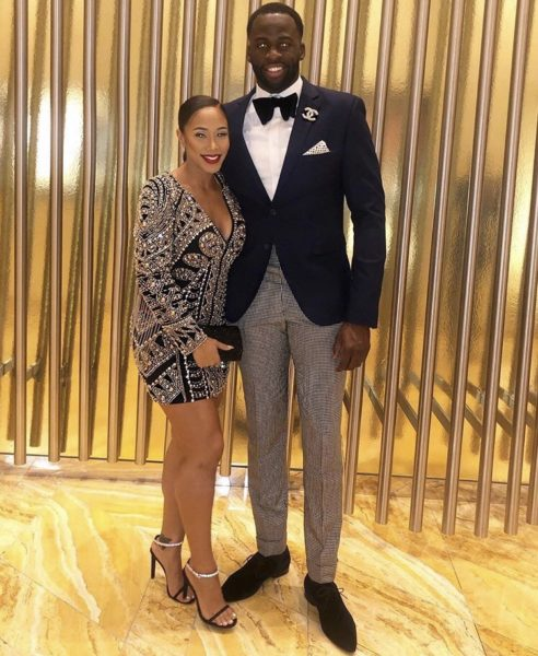 Image result for Draymond Green and Hazel Renee