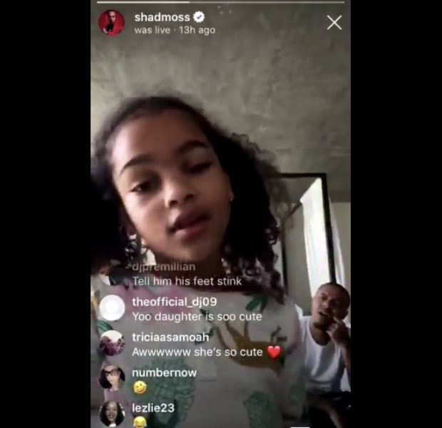Bow Wow's Daughter Adorably Shares His Business On Instagram Live [VIDEO]