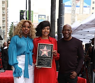 Taraji P. Henson Receives Star On Hollywood Walk of Fame: John Singleton, Will Packer, Mary J. Blige Attend