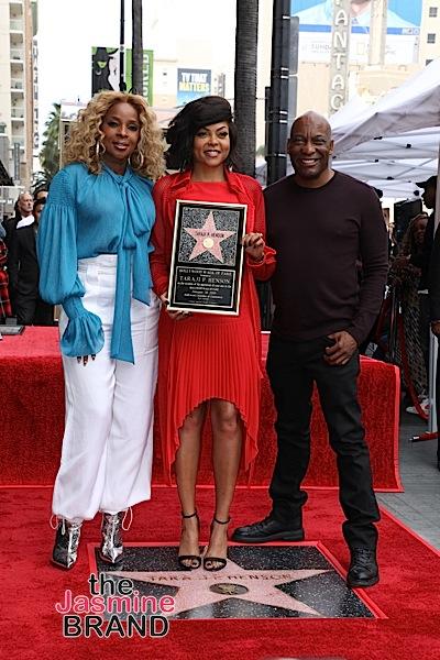Taraji P. Henson Receives Star On Hollywood Walk of Fame: John Singleton, Will Packer, Mary J. Blige Attend