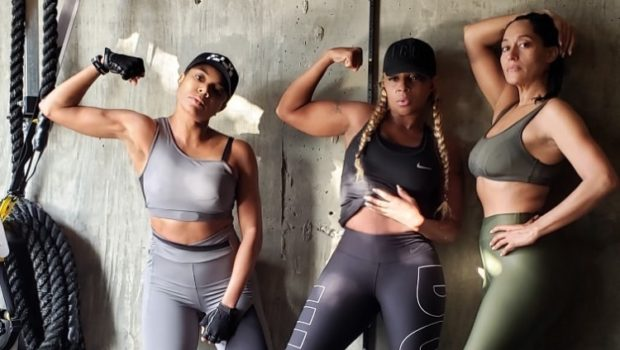 Mary J. Blige, Tracee Ellis Ross & Gabrielle Union Serve Up #BlackGirlMagic In The Gym
