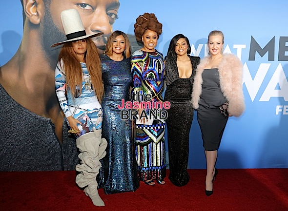 """What Men Want"" LA Screening – Taraji P. Henson, Erykah Badu, Tracy Morgan, Kelly Rowland & Mary J. Blige Attend [Photos]"