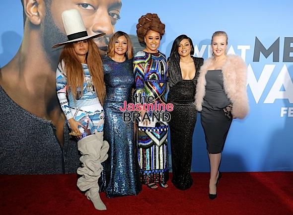 """What Men Want"" LA Screening – Taraji P. Henson, Erykah Badu, Tracy Morgan, Kelly Rowland & Mary J. Blige Attend [Photos]"