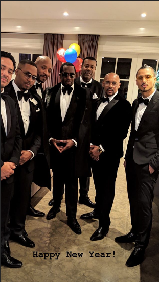 Celebrity New Year's Eve Photos: Nicki Minaj, Mary J. Blige, Khloe Kardashian & Tristan Thompson, Cardi B, 50 Cent, Gucci Mane