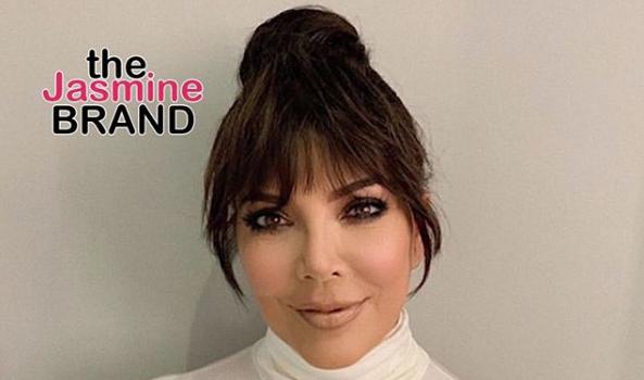 Kris Jenner Debuts New Hair!