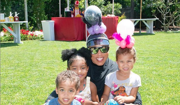 Marjorie Harvey's Grandkids Pretending to Breastfeed Their Baby Dolls Garners Mixed Reactions