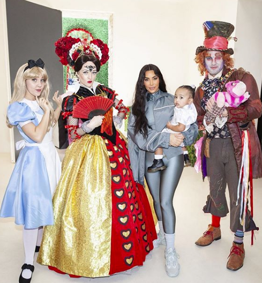 "Kim Kardashian Throws Daughter Chicago West 'Alice in ""One""derland' Themed B-Day"