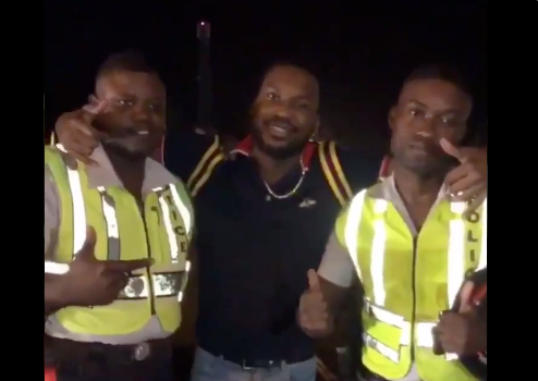 Meek Mill Pulled Over By Police In Jamaica [VIDEO]