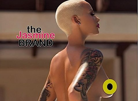 Amber Rose Is Naked In New Shoot! [Photo]