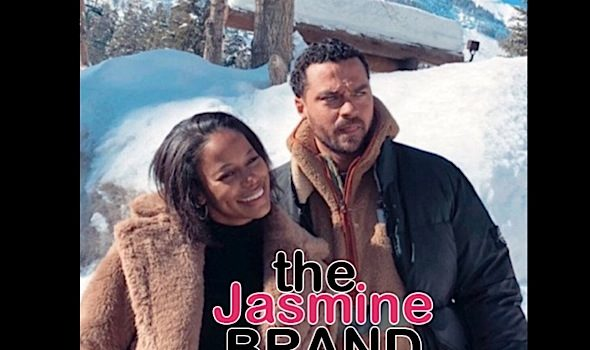 """Jesse Williams Dating """"Hit The Floor"""" Actress Taylour Paige? [Photos]"""