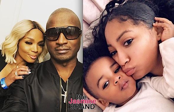 77d3fb84efcf6 Love & Hip Hop's Kirk Frost's Baby Mama Jasmine Washington Says Reality  Star Sees Their 2-Year-Old Son