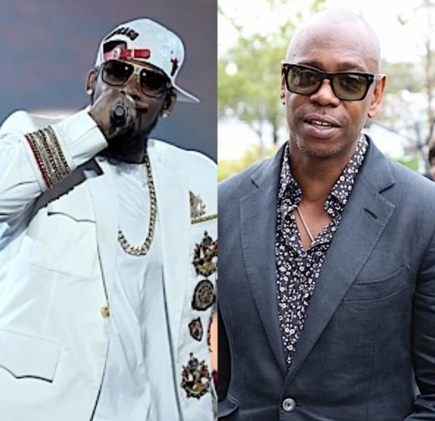 "Dave Chappelle Says R. Kelly Confronted Him Over ""Piss On You"" Parody"