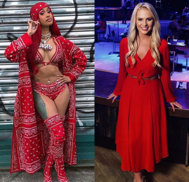 "Cardi B Warns Tomi Lahren – ""I Will Dog Walk You!"""