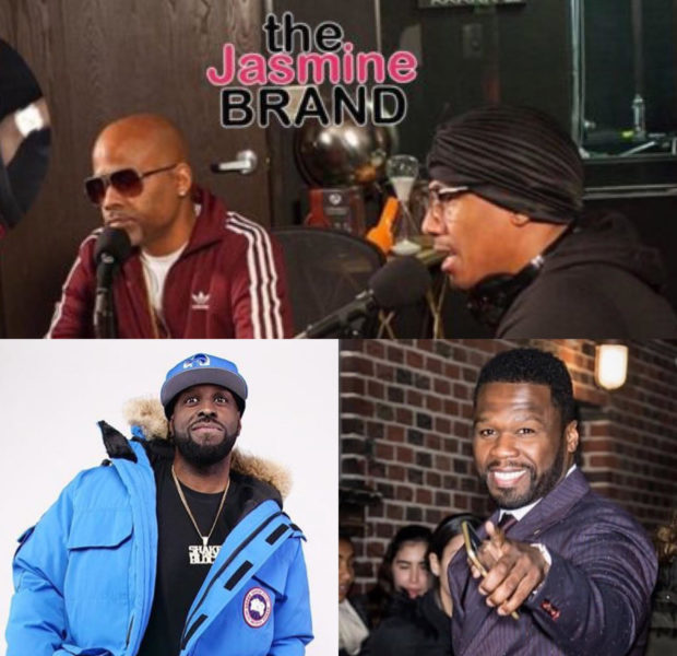 50 Cent & Funkmaster Flex Slam Nick Cannon & Dame Dash