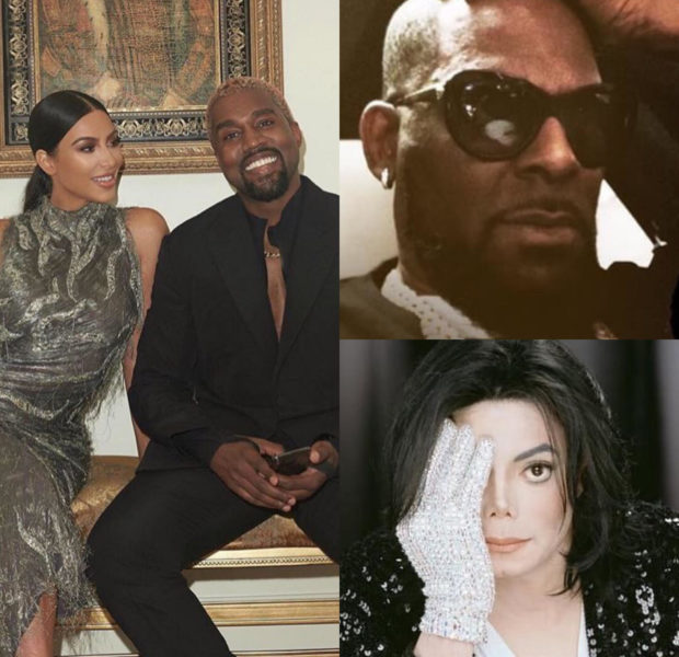 Kanye Says Fans Should Continue Listening to Michael Jackson & R. Kelly's Music, Wife Kim Kardashian Defends Him