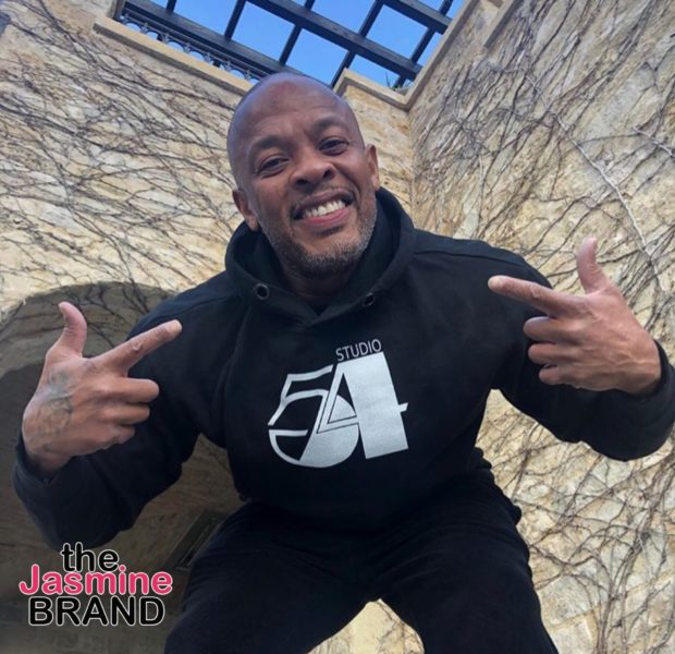 Dr. Dre Is All Smiles, Celebrating 54th Birthday W/ Children [Photos]