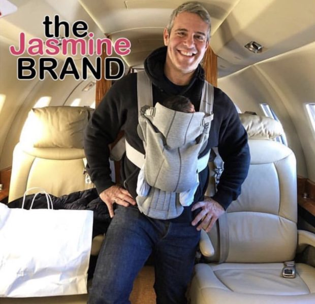 Andy Cohen Takes Newborn Son On Private Jet
