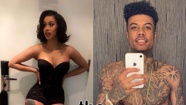 "Cardi B Shoots Video W/ BlueFace For ""Thotiana"" Remix"