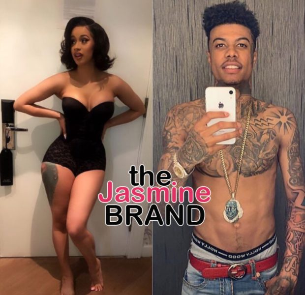 """Cardi B Shoots Video W/ BlueFace For """"Thotiana"""" Remix"""