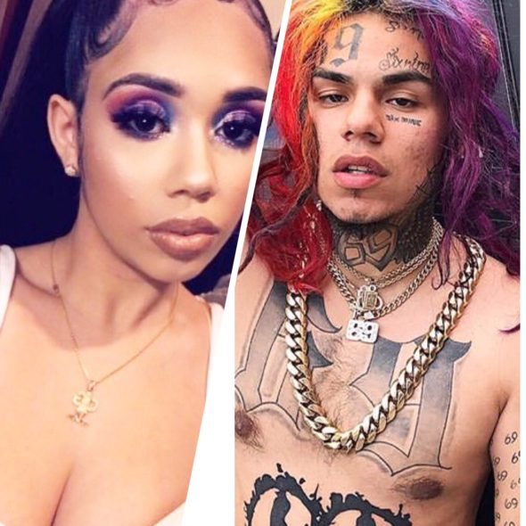 Tekashi 6ix9ine's Ex-Girlfriend Says Rapper Was Physically Abusive & Raped Her: He Beat Me For 2 Hours Straight!