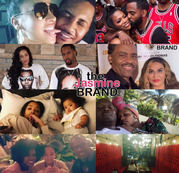 Celebrity Valentine's Day Photos: Tina & Richard Lawson, Kandi Burruss & Todd Tucker, Kenya Moore, Gucci Mane, Viola Davis