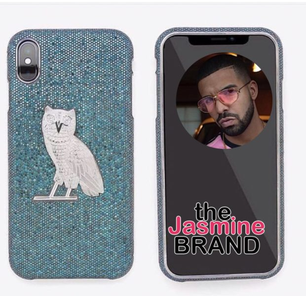 Drake Gets New iPhone Case Worth An Estimated $400,000!