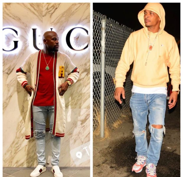 "T.I. Names Floyd Mayweather ""F*ck N*gga"" In New Diss Track, Mayweather Responds"