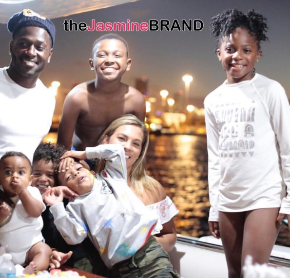 Antonio Brown Son >> Nfl S Antonio Brown Wants Full Custody Of Daughter After