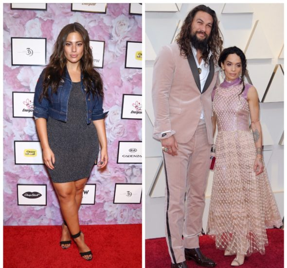 Ashley Graham Has Awkward Red Carpet Moment w/ Jason Momoa, Wife Lisa Bonet Interjects [VIDEO]