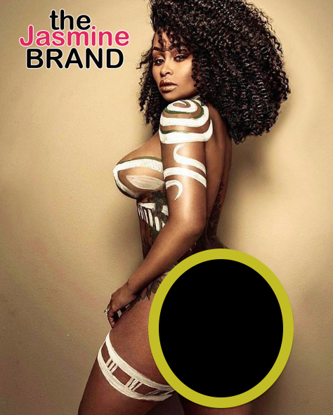 Blac Chyna Celebrates 'Black Excellence' Butt Naked [Photo]